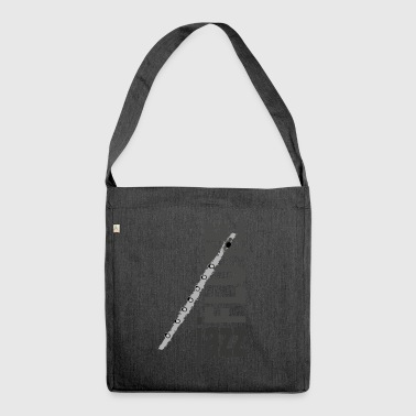 Jazz Flute - Shoulder Bag made from recycled material
