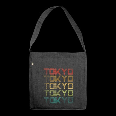 Tokyo - Used Look - Shoulder Bag made from recycled material
