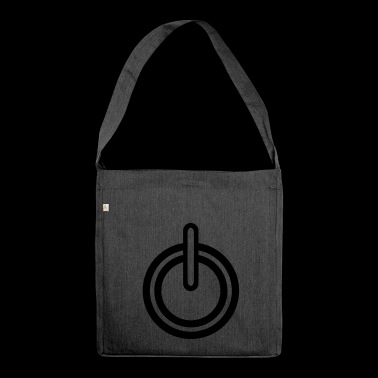 Power electricity icon - Shoulder Bag made from recycled material