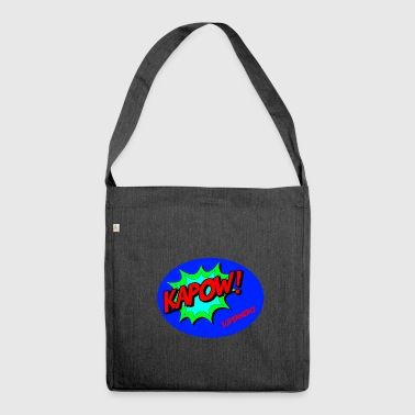 Superhero (Superhero) - Shoulder Bag made from recycled material