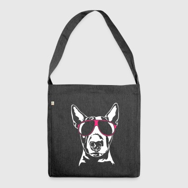 BULL TERRIER - BULL TERRIER cool - Shoulder Bag made from recycled material
