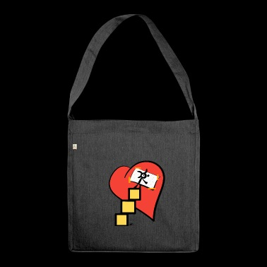 Heart Care Care - Shoulder Bag made from recycled material
