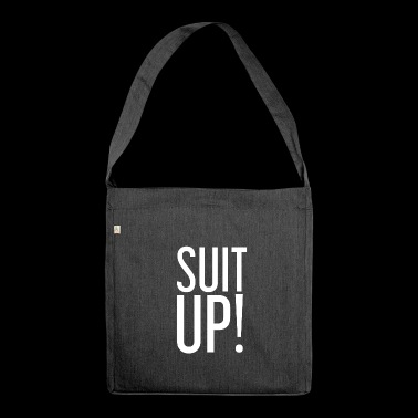 Suit Up! Suit - white - Shoulder Bag made from recycled material