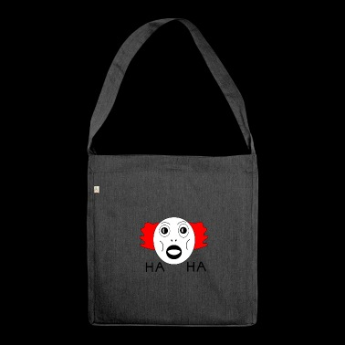 HaHa for Spreadshirt - Shoulder Bag made from recycled material