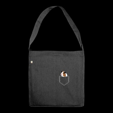 Guinea pig guinea pig rodents gift - Shoulder Bag made from recycled material