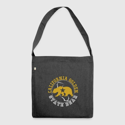 California Golden State Orso - Borsa in materiale riciclato