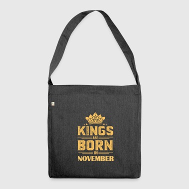 Gift for born in November born in - Shoulder Bag made from recycled material