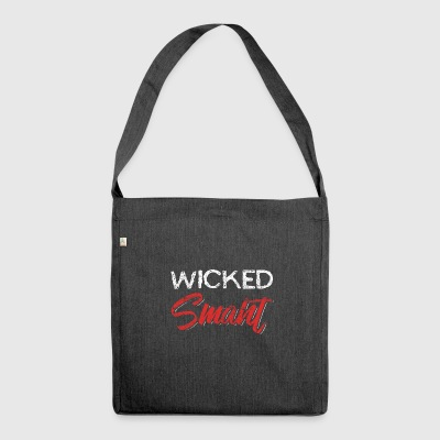 Wicked intelligente Distressed - Borsa in materiale riciclato