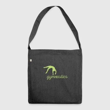 Gymnastics Gift - Schultertasche aus Recycling-Material