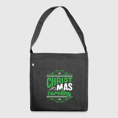 Christmas Caroling Filipino Tradition Holiday - Shoulder Bag made from recycled material