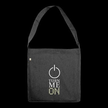 Turn Me On Funny Light Interrupteur - Sac bandoulière 100 % recyclé
