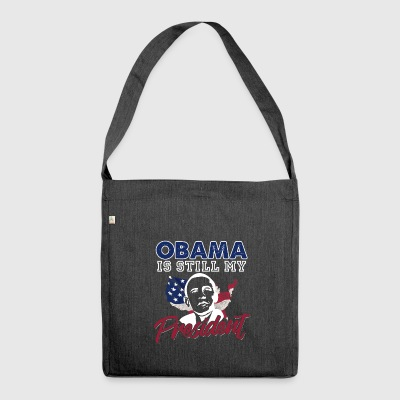 US Presidential Election - Schultertasche aus Recycling-Material