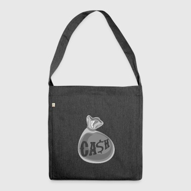 Cash Tee Shirt - Shoulder Bag made from recycled material