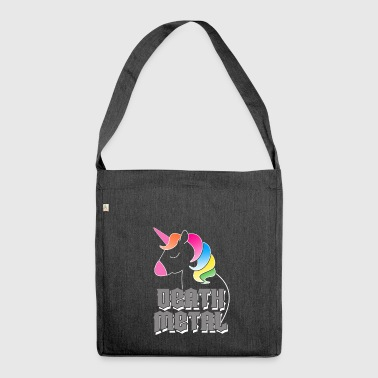 Death Metal Unicorn - Shoulder Bag made from recycled material
