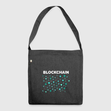 BLOCKCHAIN ​​BITCOIN CRYPTOCURRENCY TECHNOLOGY - Shoulder Bag made from recycled material