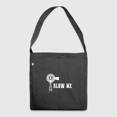Blowing gift for Farmers - Shoulder Bag made from recycled material