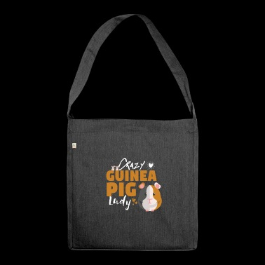 Guinea Pig Guinea Pig Pet Gift - Shoulder Bag made from recycled material
