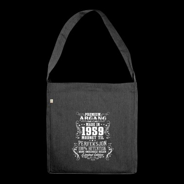 1959 59 premium årgang bursdag gave NO - Shoulder Bag made from recycled material
