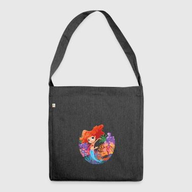 Dabbing Mermaid Poison | Mermaid gift - Shoulder Bag made from recycled material
