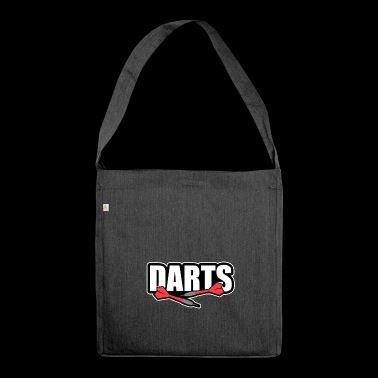 Darts Darts Dart - Shoulder Bag made from recycled material