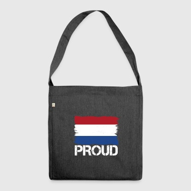 Pride flag flag home origin holland png - Shoulder Bag made from recycled material