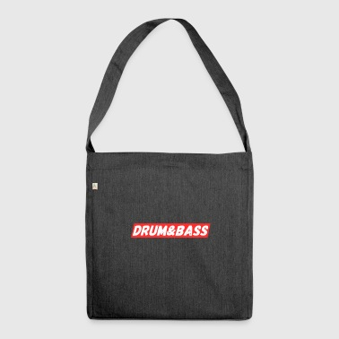 Drum & Bass - DnB Music Gift T-Shirts - Shoulder Bag made from recycled material