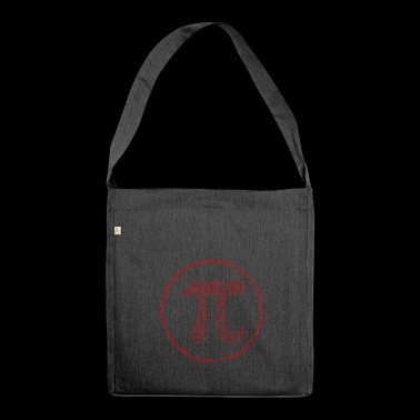 Pi - Pi Day - red - Shoulder Bag made from recycled material