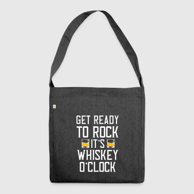 Whiskey T-Shirt - Whiskey - Scotch - Bourbon - Shoulder Bag made from recycled material