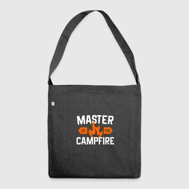 Master of Campfire, master of the campfire - Shoulder Bag made from recycled material