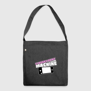 MACHINE - Shoulder Bag made from recycled material