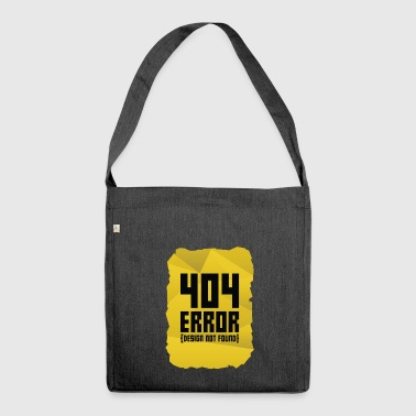 Error message computer gift computer science warning - Shoulder Bag made from recycled material