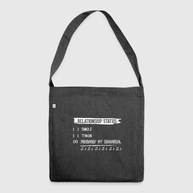 Relationship Status Music - Shoulder Bag made from recycled material