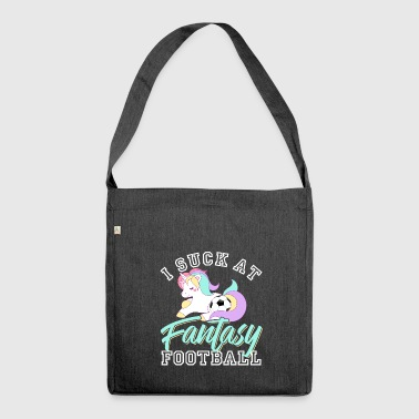 I Suck At Fantasy Football - Borsa in materiale riciclato