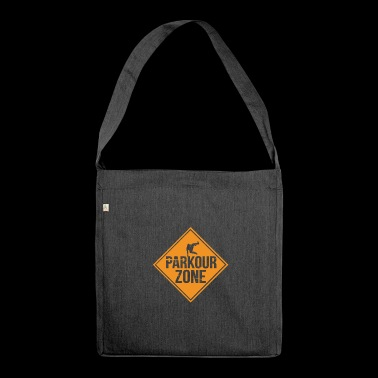 Runaway Extreme Sports Stunt Free Running - Shoulder Bag made from recycled material