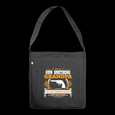 Gun Smithing Grandpa Shirt Gift Idea - Shoulder Bag made from recycled material