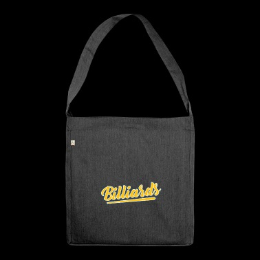 The Billiard Shirt - Shoulder Bag made from recycled material