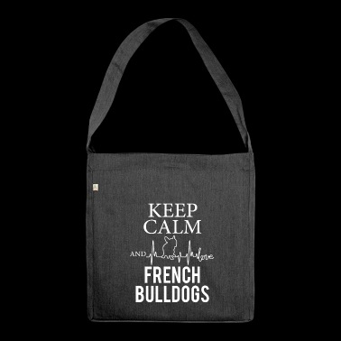 French Bulldog francese Bulldog - Borsa in materiale riciclato
