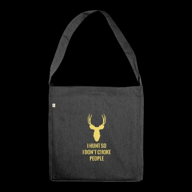 Chasse - Cerf - Chasse - Chasse - Hunter - Sac bandoulière 100 % recyclé