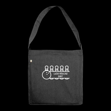 Bowling - bowling T-shirt - bowling - bowling ball - Shoulder Bag made from recycled material