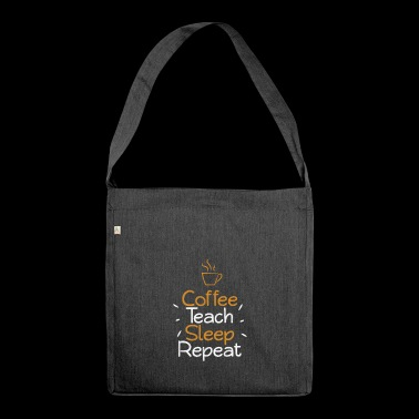 Teacher shirt for teacher and teacher Gift - Shoulder Bag made from recycled material