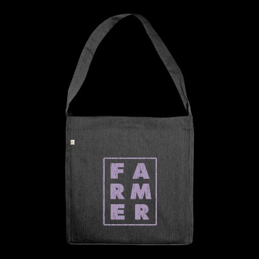 FARMER - farmer - farmer - Shoulder Bag made from recycled material