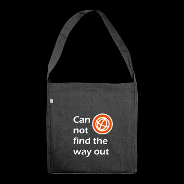 way out / The way out - Shoulder Bag made from recycled material