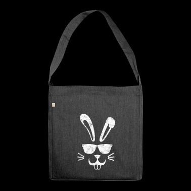 Easter Bunny - Cool Bunny - Easter - Easter - Shoulder Bag made from recycled material