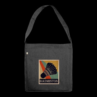 badminton - Shoulder Bag made from recycled material