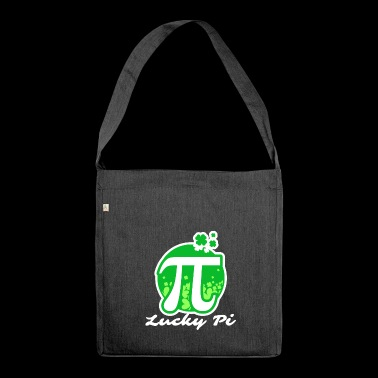 Lucky Pi - Pi Day - Shoulder Bag made from recycled material