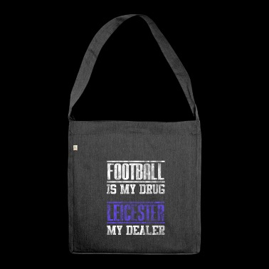 Leicester Football Football as a great gift fan - Shoulder Bag made from recycled material