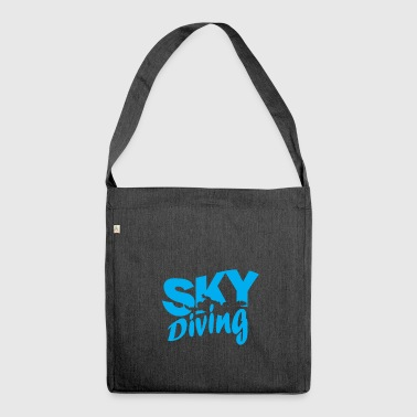 Skydiving skydiving - Shoulder Bag made from recycled material