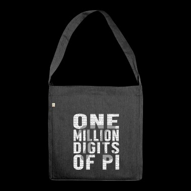 pi day - Shoulder Bag made from recycled material
