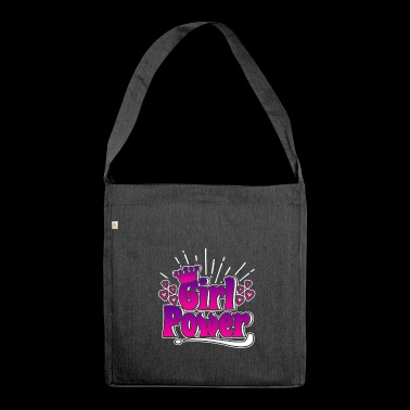 Girl Power - Girl Power - Shoulder Bag made from recycled material