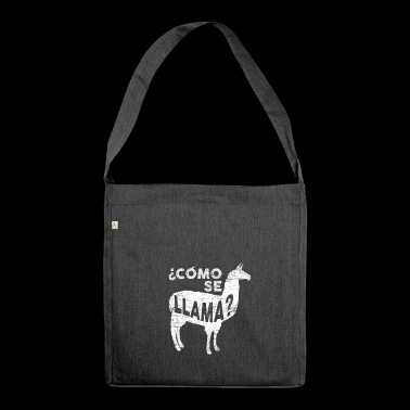 Lama Spanish - Shoulder Bag made from recycled material